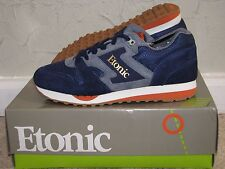 BAIT x Etonic Trans Am Trainer Mesh 'Sunrise' Navy / Grey Mens Size 10 DS NEW!