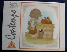 1992 Contempo Precious Moments Eggspecially For You 500 Pc Puzzle New Sealed