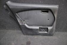 Mercedes Benz W116 Türpappe Türverkleidung hinten links schwarz
