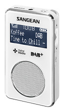 NEW SANGEAN PORTABLE DAB+ RADIO DPR35 (WHITE)