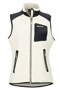 MSRP $100 Marmot Wiley Vest Cream/Black Size Medium