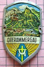 Älterer Stocknagel c11 Passionsspielort Oberammergau Ammertal  mit Wappen