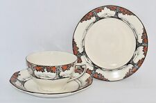 Rare Vintage Crown Ducal ORANGE TREE Trio A1211 - (Panelled) - Multiple Avail