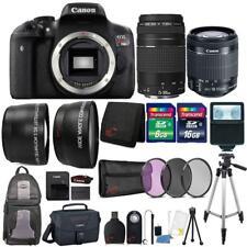 Canon EOS Rebel T6i Camera + 18-55mm Lens , 75-300mm Lens + 24GB Accessory Kit