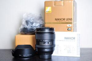 Nikon AF-S 24-120mm F4 VR FX Lens - US Model!