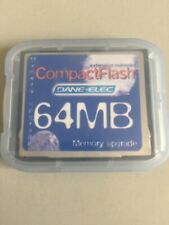 Dane Elec 64MB Compact Flash CF Memory Card, Bulk Packaged Never Used
