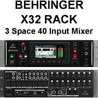 BEHRINGER X32 Rackmount 16Ch Ethernet iOS App USB Audio Interface Digital Mixer