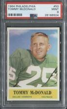 1964 Philadelphia #50 Tommy McDonald (Cowboys)  PSA 9  (Flat Rate Ship)