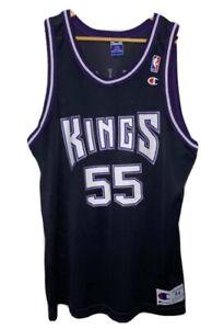 Vintage NBA Jersey champion 44 Jason Williams Jersey Sacramento Kings Jersey