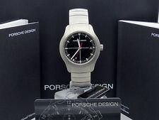 PORSCHE Design 6601.41.40 P6000 in acciaio INOX da ETERNA RRP £ 895