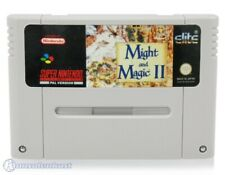 Nintendo SNES Game-Might and Magic II: Gates to Another World German Module