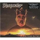 "RHAPSODY-""DARK SECRET""-ITALIAN POWER METAL 2004-BRAND NEW LTD EDITION CD+DVD"