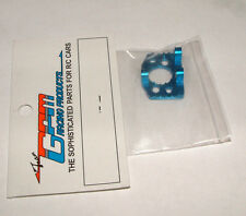TEAM ASSOCIATED RC18T MT GPM BLUE ALUMINUM MOTOR MOUNT HEAT SINK AR018