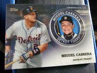 MIGUEL CABRERA 2020 Topps Series 2 Commemorative Medallion Coin TIGERS TPM-MCA