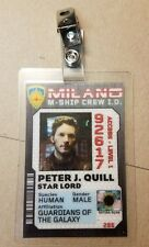 Guardians of the Galaxy Ship Crew ID Badge- Peter J. Quill costume cosplay