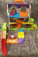 V-tec Toot Toot Friends Busy Sounds Discovery Home.