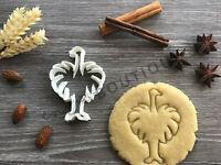Ostrich Cookie Cutter 01   Fondant Cake Decorating   UK Seller