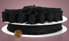 Satin Ruffle Ribbon/trim 1 inch wide select color price for 1 yard