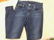 Seven 7 For All Mankind Mid Rise Ankle Skinny Jeans Size 26 (27x26)