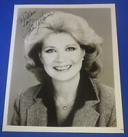 GLORIA De HAVEN deceased 2016 signed autographed 8 x10 photo actress