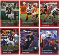 2017 Panini Donruss Football - Press Proof Red Parallels - Choose Card #'s 1-400
