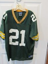 Very Rare BHAWOH JUE GREEN BAY PACKERS Football jersey NFL men's sz Large Adidas