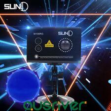 SUNY Laser Stage Light Projector DJ Disco Xmas Party Club KTV Pubs Lamp W100RG