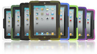 Military Grade Kids Proof Safe Shockproof Heavy Duty Case Cover for iPad 2/3/4