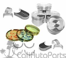 88-93 Toyota Celica Corolla 1.6L 4AF 4AFE DOHC PISTONS RINGS MAIN ROD BEARINGS