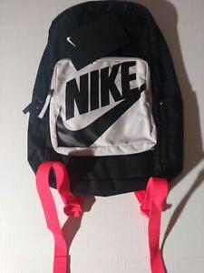 Nike Kids Classic Backpack Sport/Casual Bag BA5928 011 Black Grey Crimson NWT