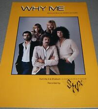 STYX ~ WHY ME ~ Copyright 1979 STYGIAN Songs (ASCAP) ~ VINTAGE Sheet Music