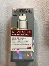 Lot Of 2 L'oreal Revitalift Bright Reveal Brightening Day Moisturizer 1ozExp2020