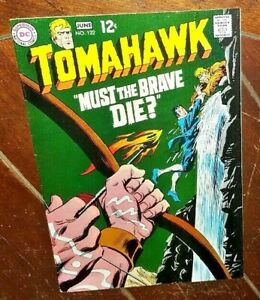 """Tomahawk #122, (1969, DC): """"Must the Brave Die?"""""""