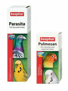 Beaphar Parasite (50 ml) combatte acari pidocchi nei piccioni gabbia pulmosan