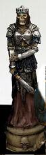 Queen Death Zombie Gothic Skeleton Skull Seal Sigil Rubber Stamp War Battle Kill