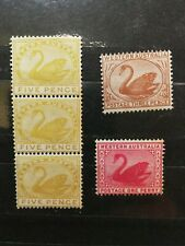 Australian Stamps -- Australian States 1872-1890 40, 62, 66