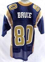St. Louis Rams Issac Bruce Football Jersey Navy 80