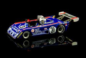 Bizarre Lola-Ford T294/4 #31 - Bracey / Joscelyne - 22nd Le Mans 1976 - 1/43