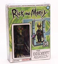 Rick and Morty - The Discreet Assassin - 54 pcs Build NIB McFarlane Adult Swim
