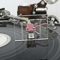 Acrylic Record Player Measuring Phono Tonearm VTA & Cartridge Azimuth Ruler 1