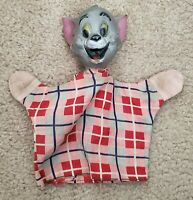 Early 1950's TOMCAT Hand Puppet Vintage Tom & Jerry MGM Terrytoons Made By ZANY