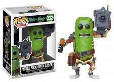 Minor Box Damage Funko Pop! Animation 332 Rick and Morty Pickle Rick w Laser Pop