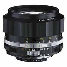 2016 NEW Voigtlander NOKTON 58mm F1.4 SL II S for Nikon F Black rim Japan