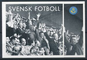[348706] Sweden 2004 Soccer good complete booklet very fine Adhesive