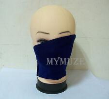 Dark Blue Naruto Hatake Kakashi Cosplay Mask Ninja Anbu Veil
