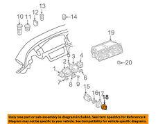 BMW OEM 00-03 Z8 Dash Cluster Switch-Light Switch Knob 61318377608