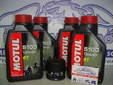 KIT TAGLIANDO MOTUL 5100 10W40+FILTRO OLIO cbr 900 fireblade anno 1997