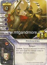 Warhammer Invasion - 2x Pistoliers  #036