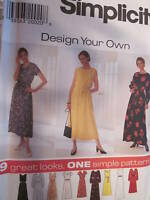 7506 Simplicity SEWING Pattern Misses EASY Dress UNCUT