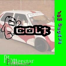 Domo Colt JDM Sticker Aufkleber oem Power fun like Shocker DUB Hater